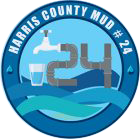 Harris County Municipal Utility District 24 Logo